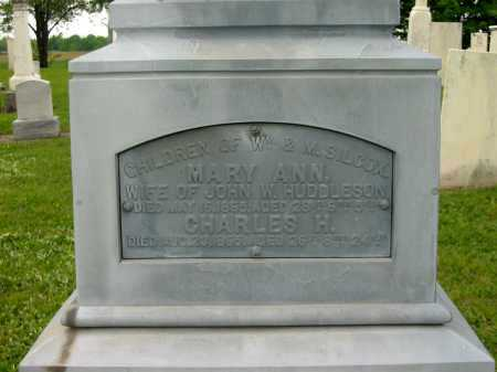 HUDDLESON, MARY ANN - Seneca County, Ohio | MARY ANN HUDDLESON - Ohio Gravestone Photos