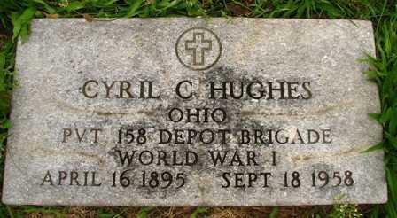 HUGHES, CYRIL C. - Seneca County, Ohio   CYRIL C. HUGHES - Ohio Gravestone Photos