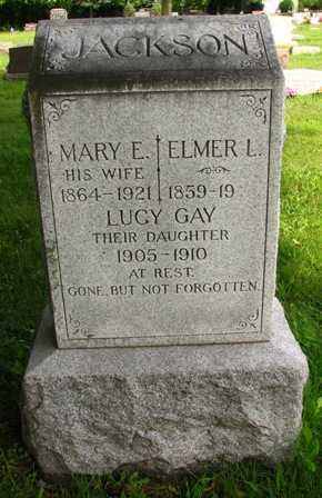 JACKSON, MARY E. - Seneca County, Ohio | MARY E. JACKSON - Ohio Gravestone Photos