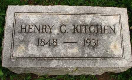 KITCHEN, HENRY G. - Seneca County, Ohio | HENRY G. KITCHEN - Ohio Gravestone Photos