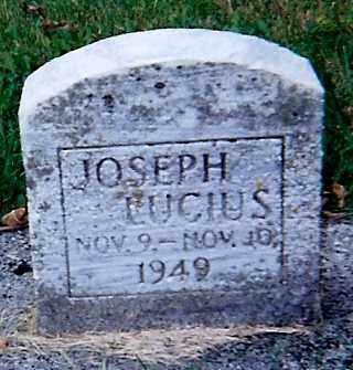 LUCIUS, JOSEPH - Seneca County, Ohio   JOSEPH LUCIUS - Ohio Gravestone Photos