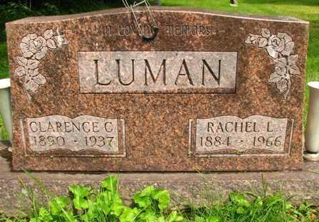 LUMAN, CLARENCE C. - Seneca County, Ohio   CLARENCE C. LUMAN - Ohio Gravestone Photos