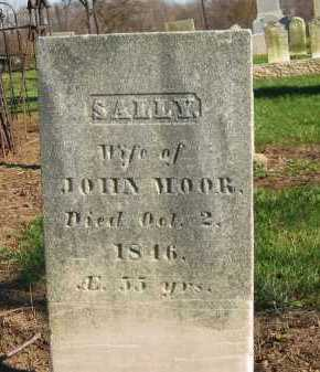 MOOR, SALLY - Seneca County, Ohio | SALLY MOOR - Ohio Gravestone Photos
