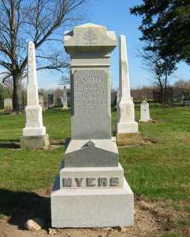 MYERS, JOHN - Seneca County, Ohio | JOHN MYERS - Ohio Gravestone Photos