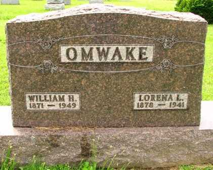 OMWAKE, WILLIAM H. - Seneca County, Ohio | WILLIAM H. OMWAKE - Ohio Gravestone Photos