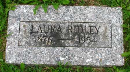 RIDLEY, LAURA - Seneca County, Ohio | LAURA RIDLEY - Ohio Gravestone Photos