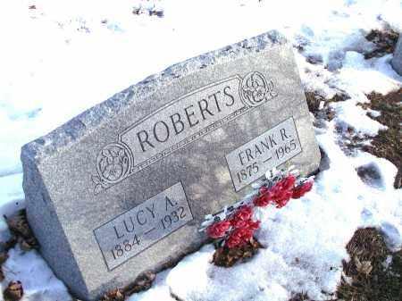 DROWN ROBERTS, LUCY ARMIDA - Seneca County, Ohio | LUCY ARMIDA DROWN ROBERTS - Ohio Gravestone Photos