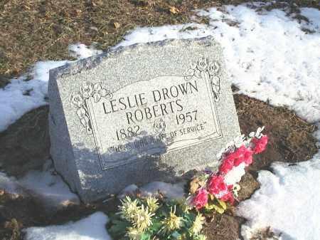 DROWN ROBERTS, LESSIE MAE - Seneca County, Ohio | LESSIE MAE DROWN ROBERTS - Ohio Gravestone Photos