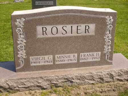 ROSIER, VIRGIL G. - Seneca County, Ohio   VIRGIL G. ROSIER - Ohio Gravestone Photos