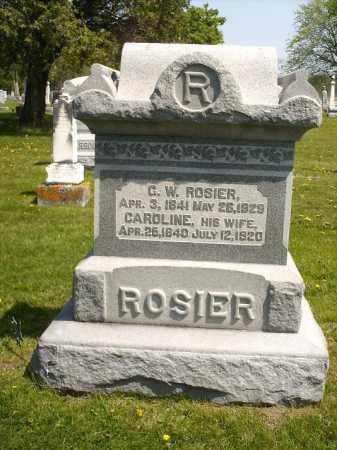 YAMBERT ROSIER, CAROLINE - Seneca County, Ohio | CAROLINE YAMBERT ROSIER - Ohio Gravestone Photos