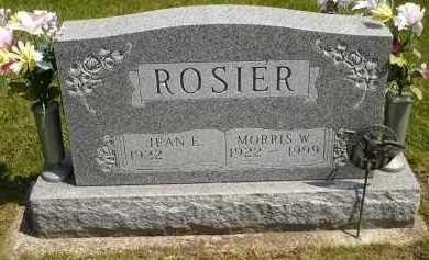 ROSIER, JEAN E. - Seneca County, Ohio | JEAN E. ROSIER - Ohio Gravestone Photos