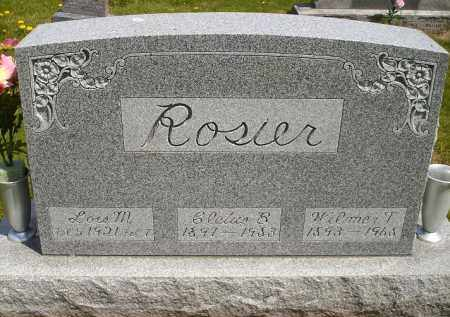 ROSIER, WILMER THOMAS - Seneca County, Ohio | WILMER THOMAS ROSIER - Ohio Gravestone Photos