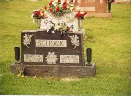 SCHOCK, JUDITH M. - Seneca County, Ohio   JUDITH M. SCHOCK - Ohio Gravestone Photos