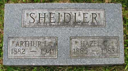 SHEIDLER, HAZEL - Seneca County, Ohio | HAZEL SHEIDLER - Ohio Gravestone Photos