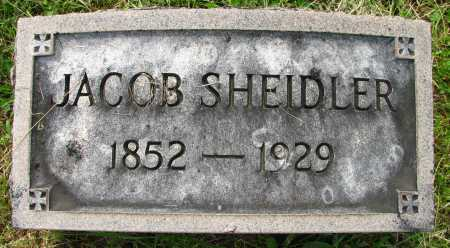SHEIDLER, JACOB - Seneca County, Ohio | JACOB SHEIDLER - Ohio Gravestone Photos