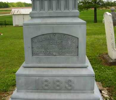 SILCOX, WILLIAM - Seneca County, Ohio   WILLIAM SILCOX - Ohio Gravestone Photos