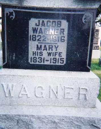 WAGNER, JACOB & MARY - Seneca County, Ohio | JACOB & MARY WAGNER - Ohio Gravestone Photos