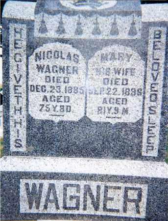 WAGNER, MARY - Seneca County, Ohio | MARY WAGNER - Ohio Gravestone Photos