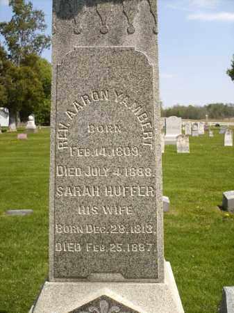 HUFFER YAMBERT, SARAH - Seneca County, Ohio | SARAH HUFFER YAMBERT - Ohio Gravestone Photos