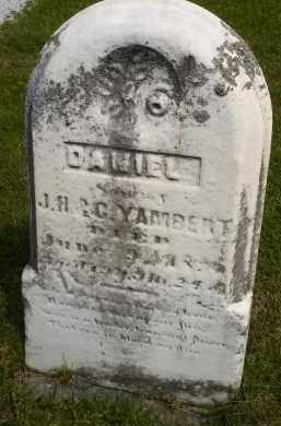 YAMBERT, DANIEL - Seneca County, Ohio   DANIEL YAMBERT - Ohio Gravestone Photos
