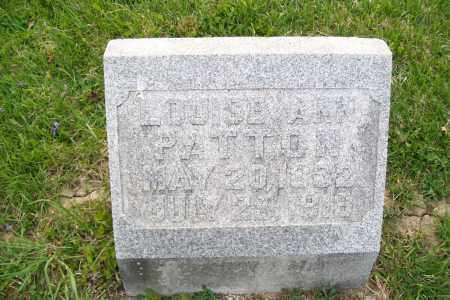 PATTON, LOUISE - Shelby County, Ohio | LOUISE PATTON - Ohio Gravestone Photos