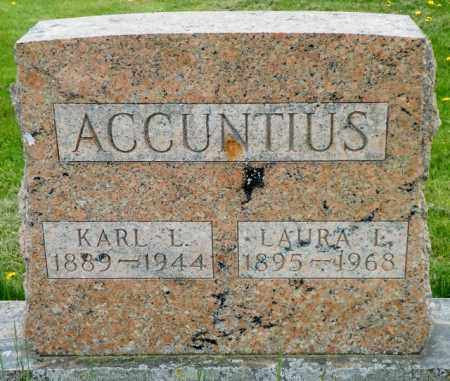 ACCUNTIUS, KARL L. - Shelby County, Ohio | KARL L. ACCUNTIUS - Ohio Gravestone Photos