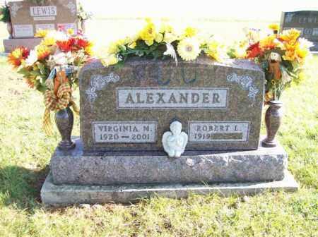 ALEXANDER, VIRGINIA M. - Shelby County, Ohio | VIRGINIA M. ALEXANDER - Ohio Gravestone Photos