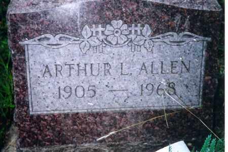 ALLEN, ARTHUR L. - Shelby County, Ohio   ARTHUR L. ALLEN - Ohio Gravestone Photos