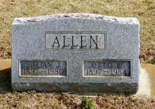 ALLEN, OTTO B. - Shelby County, Ohio | OTTO B. ALLEN - Ohio Gravestone Photos