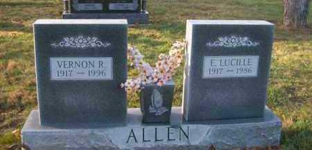 ALLEN, VERNON R. - Shelby County, Ohio | VERNON R. ALLEN - Ohio Gravestone Photos