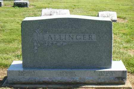 ALLINGER, RICHARD - Shelby County, Ohio | RICHARD ALLINGER - Ohio Gravestone Photos