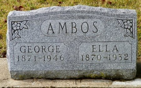 AMBOS, ELLA - Shelby County, Ohio | ELLA AMBOS - Ohio Gravestone Photos