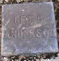 ANDERSON, GEORGE C. - Shelby County, Ohio | GEORGE C. ANDERSON - Ohio Gravestone Photos