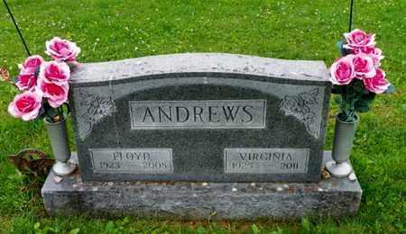 ANDREWS, FLOYD - Shelby County, Ohio | FLOYD ANDREWS - Ohio Gravestone Photos
