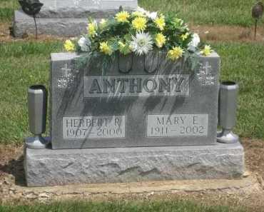 ANTHONY, HERBERT RALPH - Shelby County, Ohio | HERBERT RALPH ANTHONY - Ohio Gravestone Photos