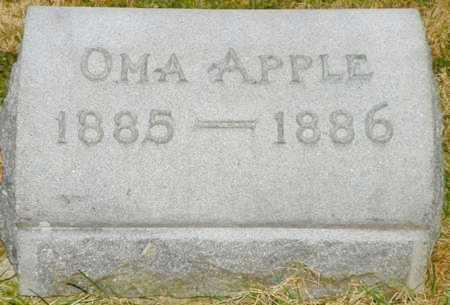 APPLE, OMA - Shelby County, Ohio | OMA APPLE - Ohio Gravestone Photos