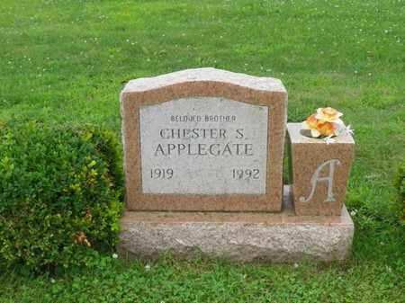 APPLEGATE, CHESTER S. - Shelby County, Ohio | CHESTER S. APPLEGATE - Ohio Gravestone Photos