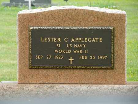 APPLEGATE, LESTER C. - Shelby County, Ohio | LESTER C. APPLEGATE - Ohio Gravestone Photos