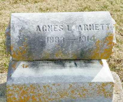 ARNETT, AGNES L. - Shelby County, Ohio | AGNES L. ARNETT - Ohio Gravestone Photos