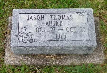 AUSKE, JASON THOMAS - Shelby County, Ohio | JASON THOMAS AUSKE - Ohio Gravestone Photos