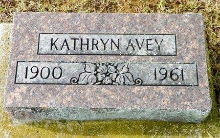AVEY, KATHRYN - Shelby County, Ohio   KATHRYN AVEY - Ohio Gravestone Photos