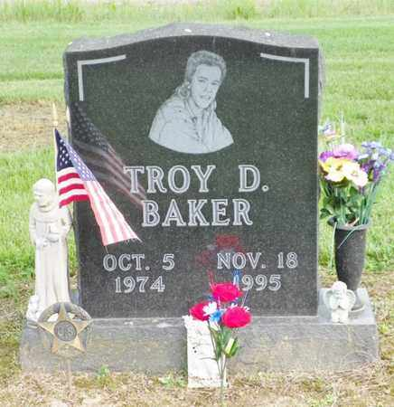BAKER, TROY D. - Shelby County, Ohio | TROY D. BAKER - Ohio Gravestone Photos