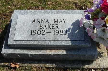 BAKER, ANNA MAY - Shelby County, Ohio | ANNA MAY BAKER - Ohio Gravestone Photos