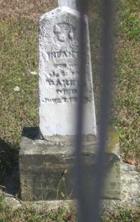 BAKER, INFANT - Shelby County, Ohio | INFANT BAKER - Ohio Gravestone Photos