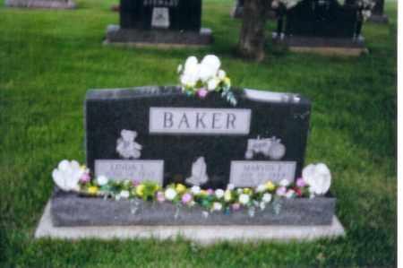 BAKER, MARVIN - Shelby County, Ohio | MARVIN BAKER - Ohio Gravestone Photos