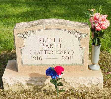 BAKER, RUTH E. - Shelby County, Ohio | RUTH E. BAKER - Ohio Gravestone Photos