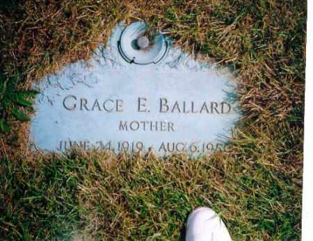 BALLARD, GRACE ELIZABETH LOCKER - Shelby County, Ohio   GRACE ELIZABETH LOCKER BALLARD - Ohio Gravestone Photos