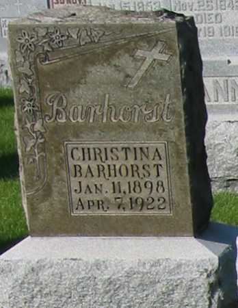 BARHORST, CHRISTINA - Shelby County, Ohio | CHRISTINA BARHORST - Ohio Gravestone Photos