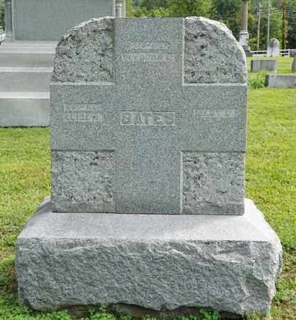 BATES, JOHN L. - Shelby County, Ohio   JOHN L. BATES - Ohio Gravestone Photos