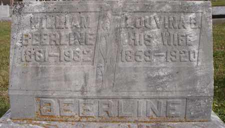 BEERLINE, WILLIAM - Shelby County, Ohio | WILLIAM BEERLINE - Ohio Gravestone Photos